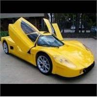 Varley Evr450 Elektrikli Süper Spor Otomobil
