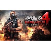 Modern Combat 4, Yakında Güncelleniyor!