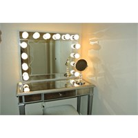 Işıklı Makyaj Aynası / Kulis Masası Yapımı