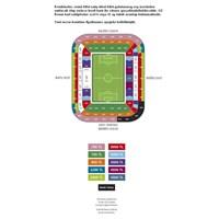 2013-2014 Futbol Sezonu Kombine Fiyat Çizelgesi