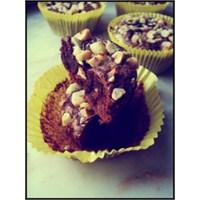 4 Malzemeli Nutellalı Brownie