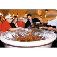 Dünya'nın En Geniş Kızarmış Tavuk Tabağı Rekoru