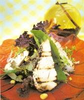 Kekikli Tavuk Salatası