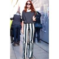 Trend: Dikine Çizgili Pantolonlar