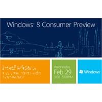 Windows 8 Beta Sürümü 29 Şubat'ta Tanıtılacak