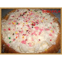 Muzlu Pişmaniyeli Tart Pasta