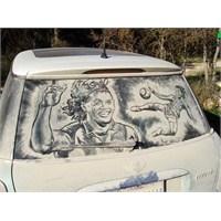 Kirli Araba Camından Sanat Eserine!