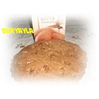 Kremali Cevizli Kepek Ekmeği