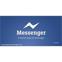 Video- Facebook Messenger' Da Yeni Özellik!
