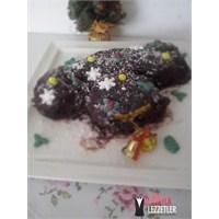 Kestaneli Kütük Pasta(Yılbaşı Pastası)