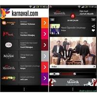 Android Karnaval Radyo Uygulaması