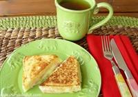 Dil Peynirli Ve Jambonlu Fransız Tostu