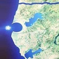 İstanbul Haritasında Fatih Sultan Mehmet Silüeti