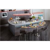Modern Oval Mutfak Örnekleri