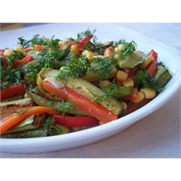 Farklı Bir Kabak Salatası