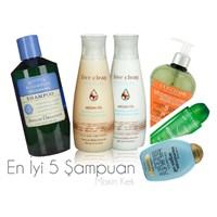 En Sevdiğim 5 Şampuan