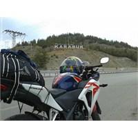 Motosiklet İle Soğuk Havada Karabük Ankara