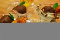 Oktay Usta dan Çikolata Soslu Yulaflı Dondurma