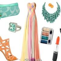 2013 Yazında Straplez Elbise Kombinleri