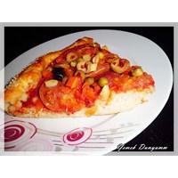 Ev Yapımı Karışık Pizza / Yemek Dunyamm