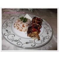 Patlıcan Dizme (Patlıcan Kebabı)