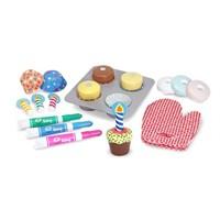 Melissa & Doug Bake And Decorate Cupcake Set