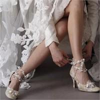 Gelin Ayakkabılarında 2012 Trendi