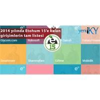 2014 Yılının 15 Etohum Girişimi Belirlendi
