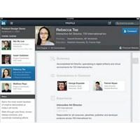 Linkedin'in İpad Uygulaması Çıktı, Mükemmel!