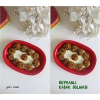 Reyhanlı Kabak Dolması(Gül-i Nisan Mutfağı)