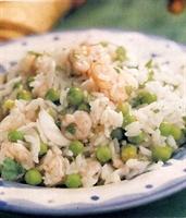 Karidesli Pirinç Salatası