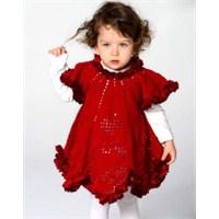 Örgü Bebek Elbisesi Ve Yapılışı
