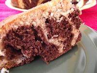 Üzümlü Ve İki Renkli Kek