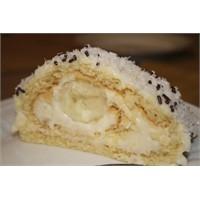 Beyaz Çikolatalı Rulo Pasta Tarifi