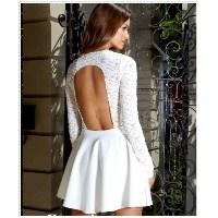 Beyaz Dantel Elbise Modelleri – Beyaz Dantel Abiye