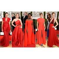 2014 Kırmızı Halı Elbiseleri