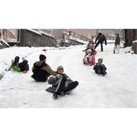 Ankarada Cemreye İnat Kar!