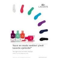 Lacoste Lovina Flip-flop Ve Aynı Renk Ojeler!