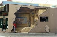 3d Resimleri Duvarlara İşleyen Sanatçı Trompe Loei