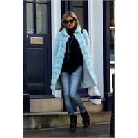 Ünlü Stil: Kate Moss'un Kürkleri