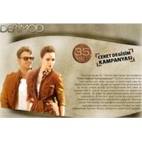 Derimod 2010 ceket değişim kampanyası