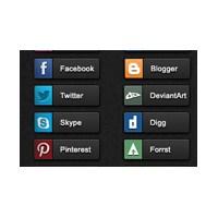 Sosyal Ağ İkonlar (Social Network İcon)