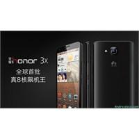 Huawei'den İki Yeni Akıllı: Honor 3x Ve Honor 3c