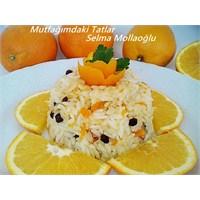 Portakallı Pilav (Mutfak Ve Tatlar)