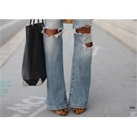 Yaz Trendi : Yırtık Kotlar - Ripped Jeans
