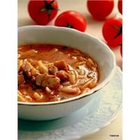Şehriyeli Parça Tavuk Çorbası