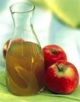 Elma Sirkesi Ve Bal Karışımı
