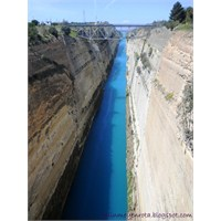 Korinth Kanalı - Yunanistan