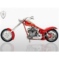 Türk malı motosiklet TT Custom Choppers'ta