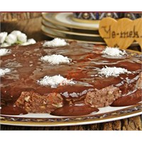 Marşmelovlu Halleyli Pasta (Resimli Anlatım)